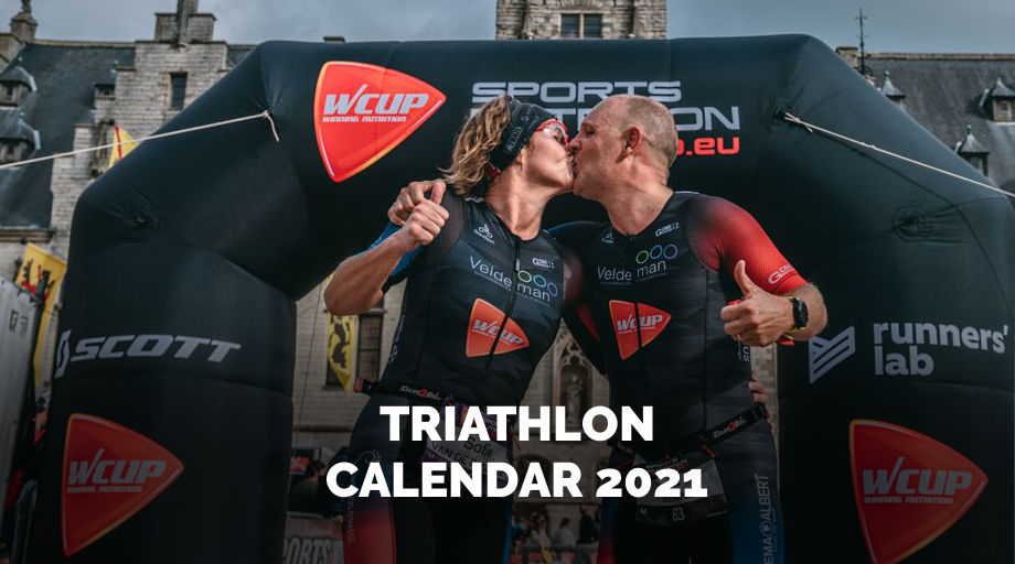 All the dates of the  WCUP Triathlon series 2021 - registration 1st Nov